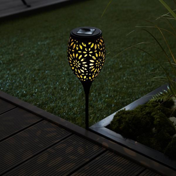 Sunshine Flower Solar-Erdspieß